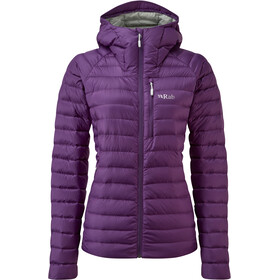 Rab Microlight Alpine Jakke Damer, black currant